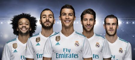 Official partnership with Real Madrid
